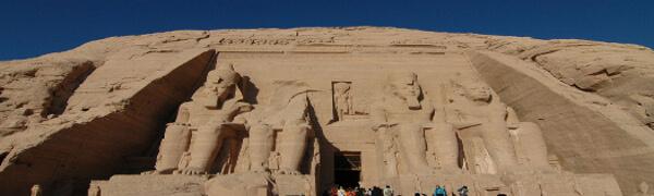 Abu Simbel: la montaña pura